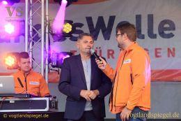 Greiz feiert LandesWelle Thüringen-Gewinnerparty