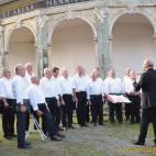 Männerchorgemeinschaft Greiz singt im Schanzengarten