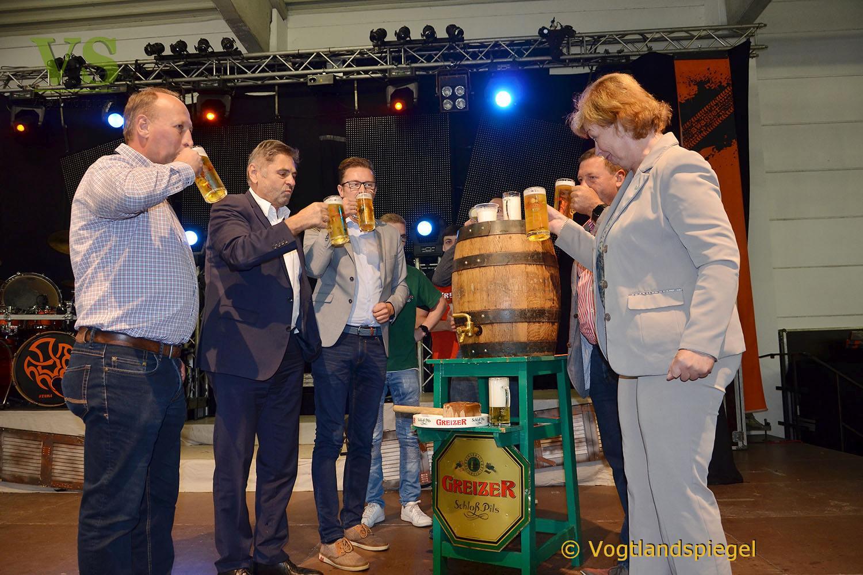 Große und Kleine strömen zum Greizer Brauereifest