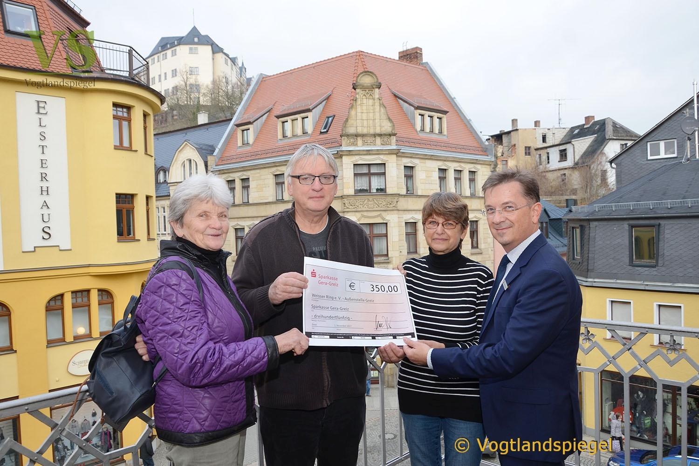 Sparkasse Gera-Greiz unterstützt Arbeit des Weißen Rings