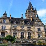 Mohlsdorfer Steinmetzmeister Alexander Brock führt Natursteinarbeiten am Schloss Hummelshain durch
