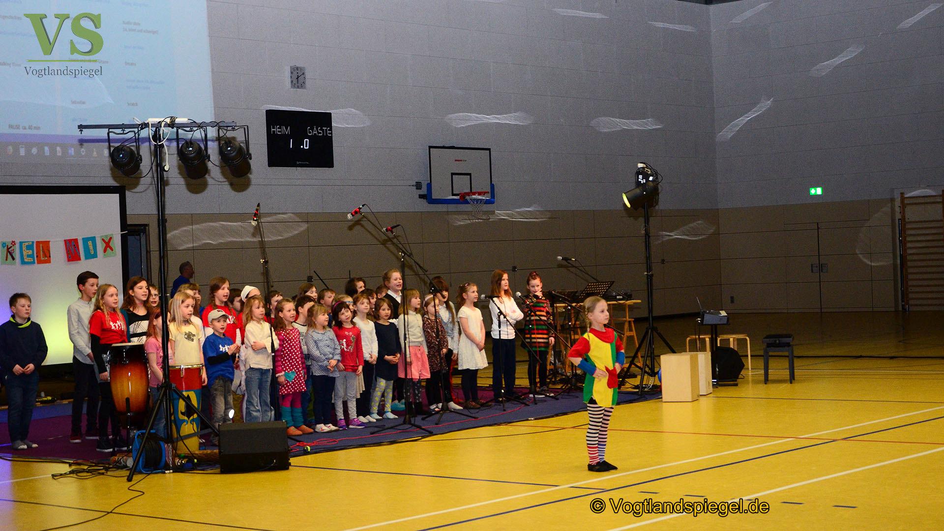 Elstertalschule Greiz: Spendenkonzert mirakelMix