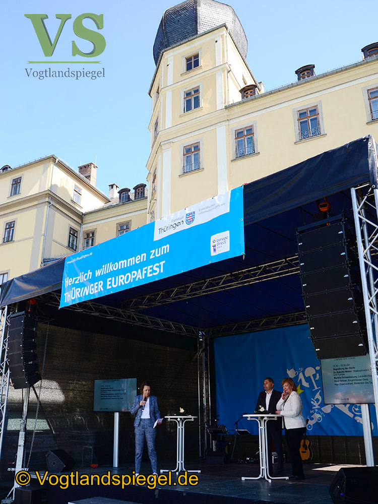 Greiz als Gastgeber des Thüringer Europafestes 2018