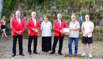Männergesangverein Raasdorf unterstützt Vision des Greizer Fanfarenzugs