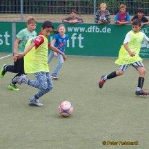 Ferien-Soccer-Turnier am Rande der laufenden Fußball – WM