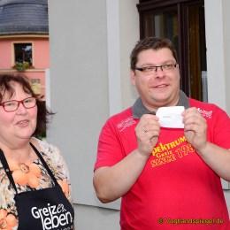 2. Suppenfest: Greizer Vereine schwingen die Kochlöffel