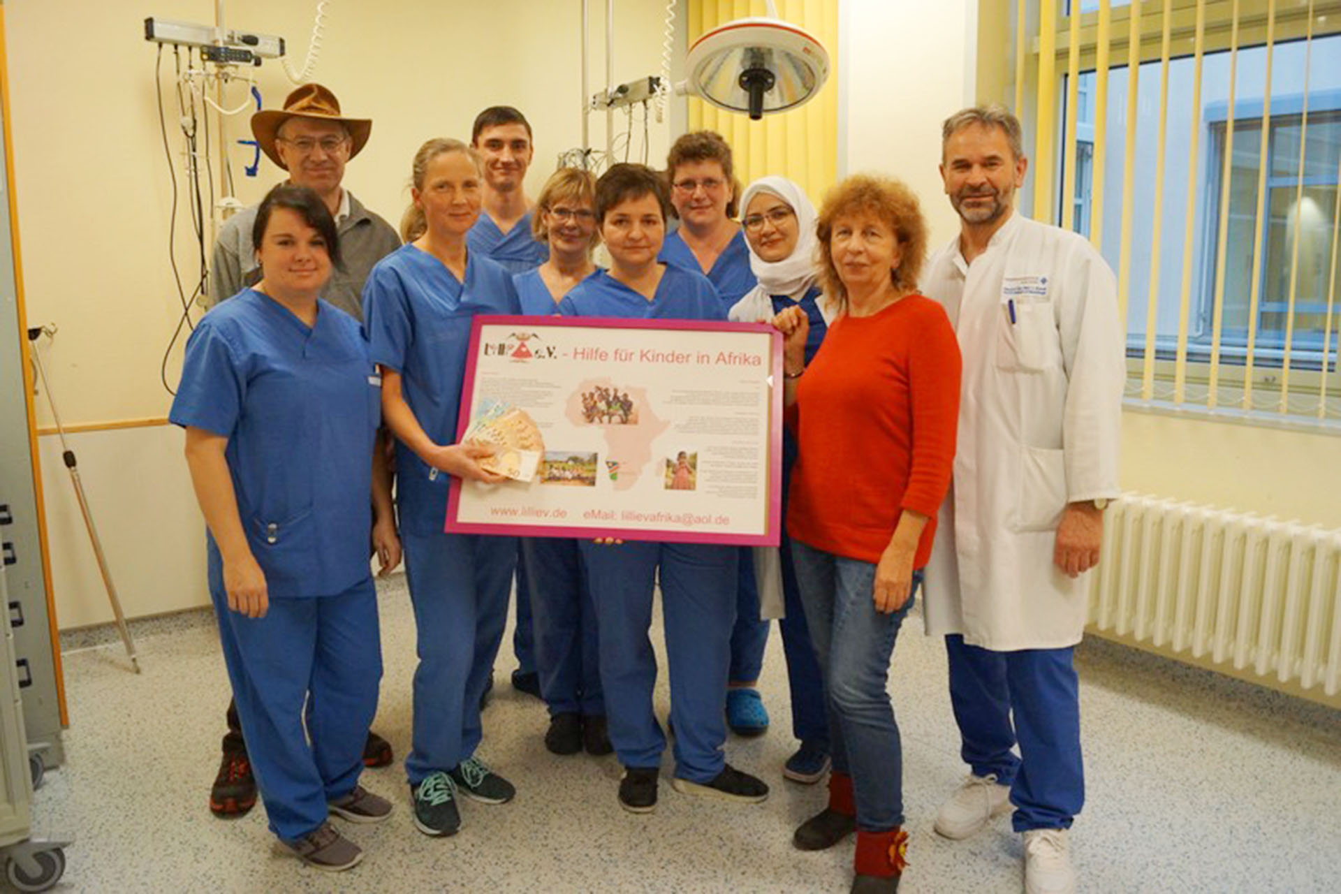 Kreiskrankenhaus Greiz: Lilli e.V. erhält 500-Euro-Spende