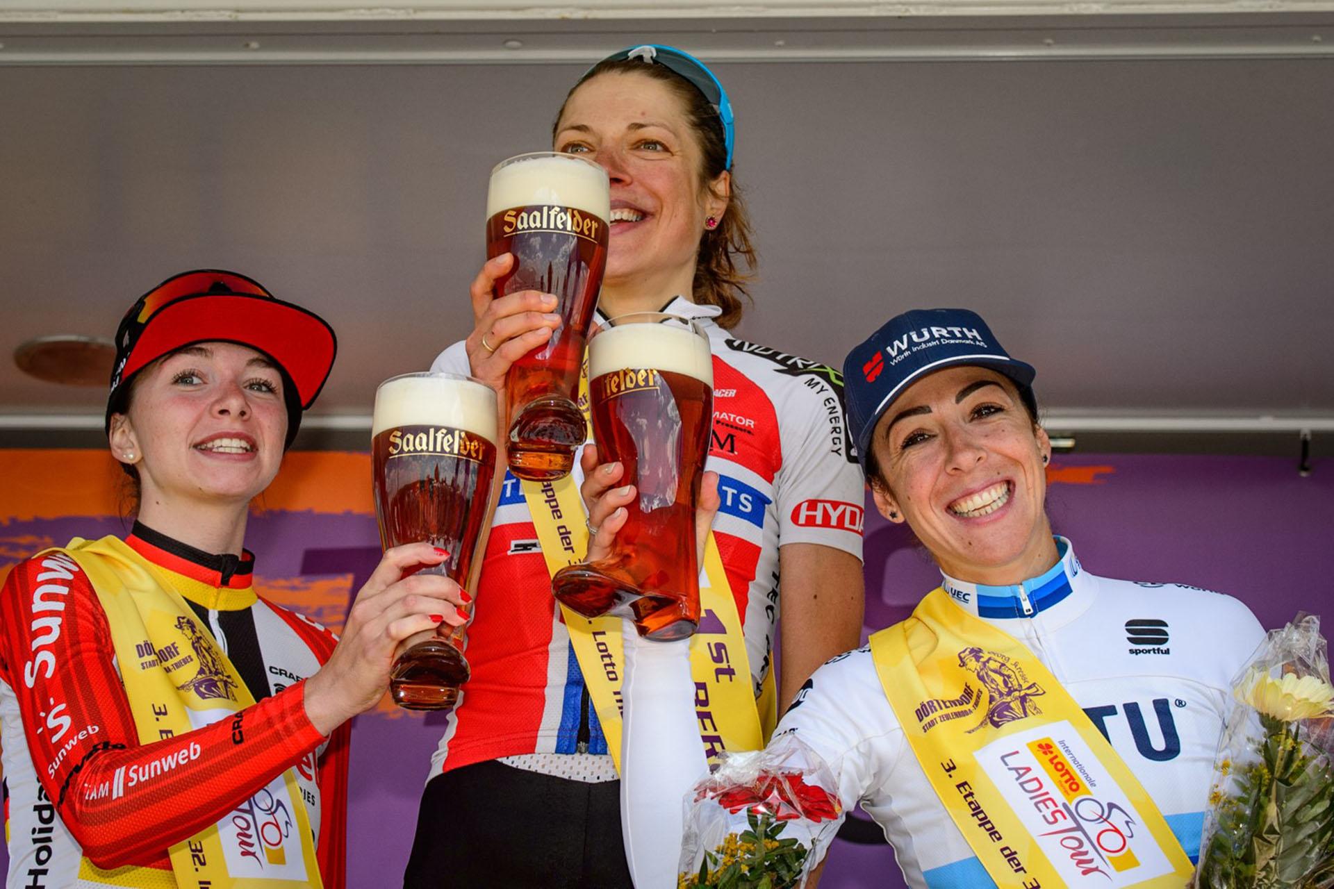 LottoThüringen Tour - Siegerehrung.