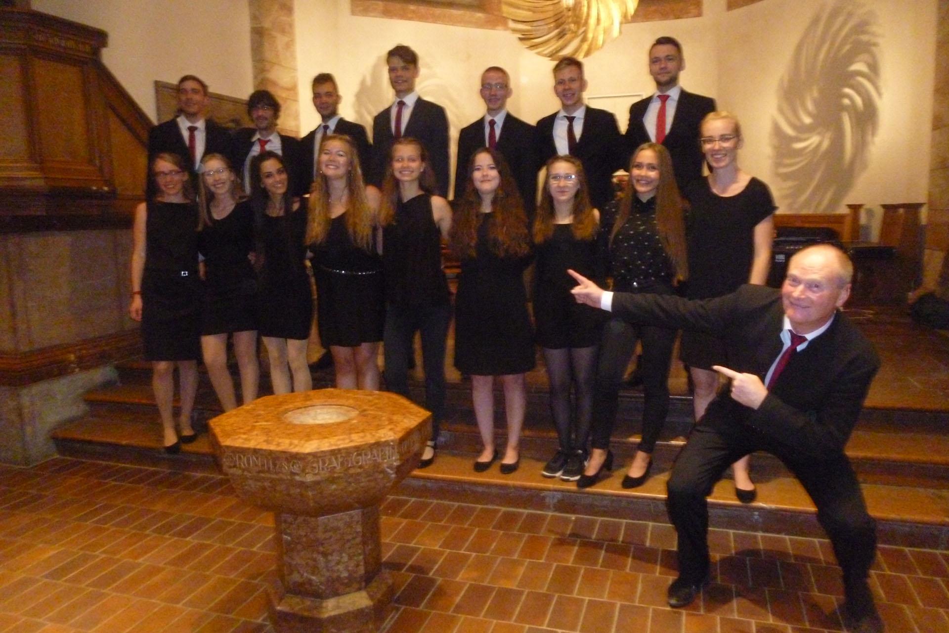 Ralf Stiller gastiert mit seiner Jungen Hofkapelle und dem Jugendchor an St. Marien Greiz erneut in der Christuskirche.