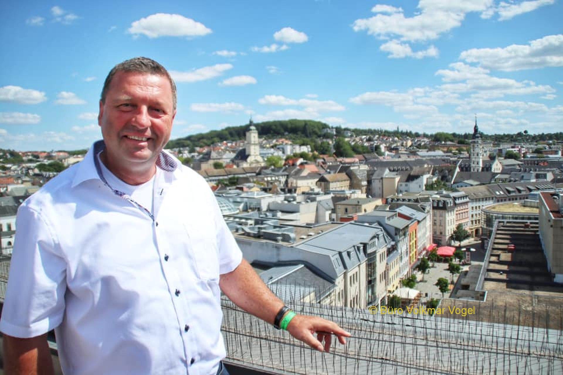 Volkmar Vogel: Neue Nationale Projekte des Städtebaus gesucht