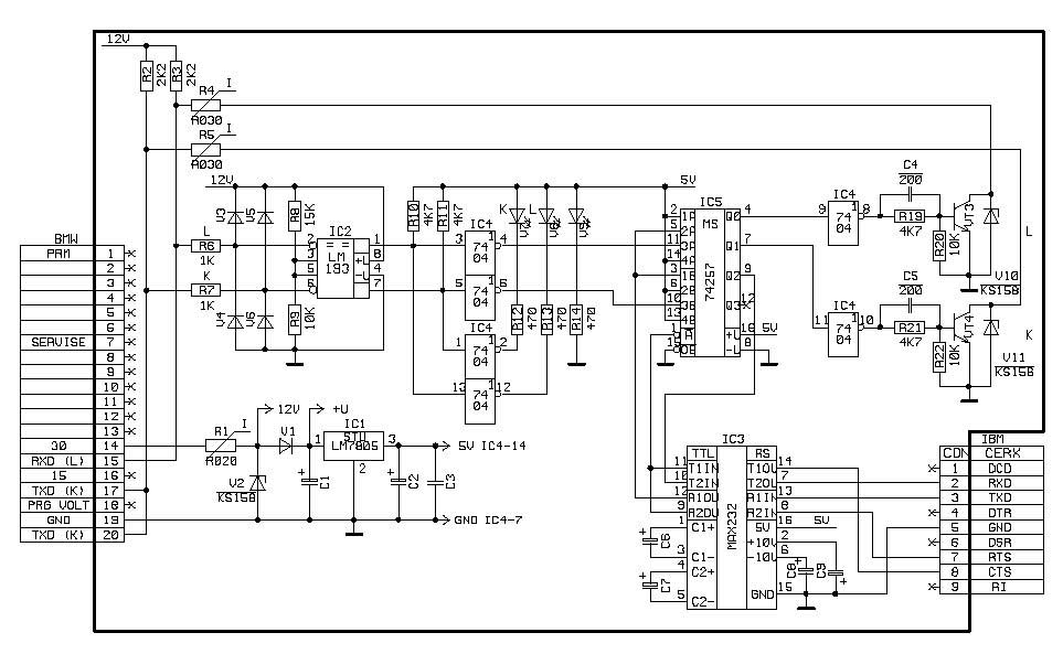 Bmw E36 M50 Schaltplan