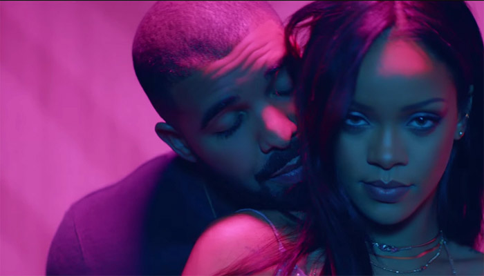 Image result for rihanna drake