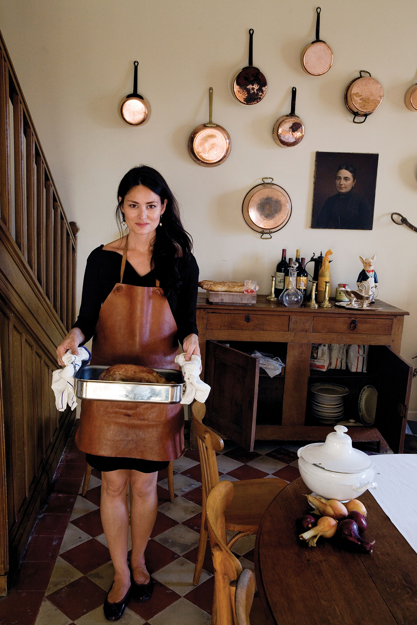 kitchen pictures for walls stonewall dark chocolate sea salt caramel sauce mimi thorisson's dream in her french chateau - vogue