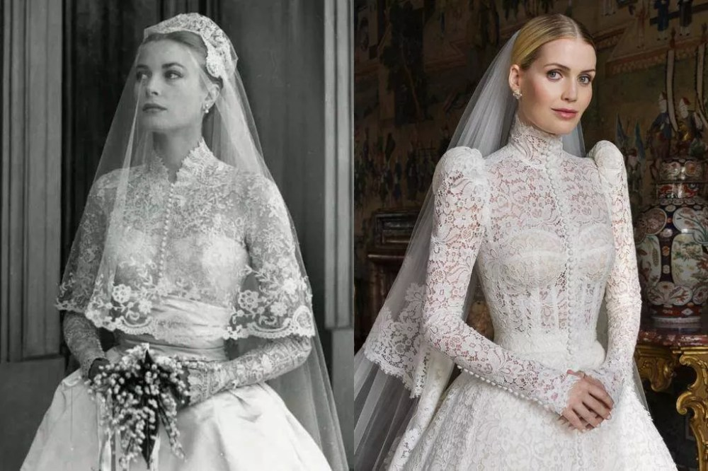 Grace Kelly (1956) and Lady Kitty Spencer (2021)