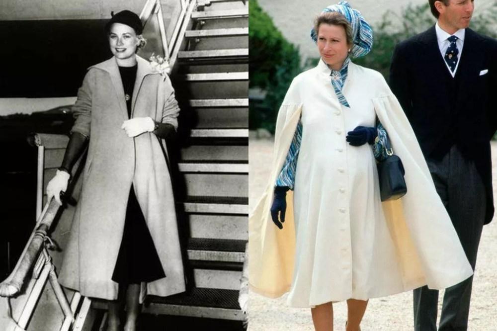 Grace Kelly (circa 1955) and Princess Anna (1981)
