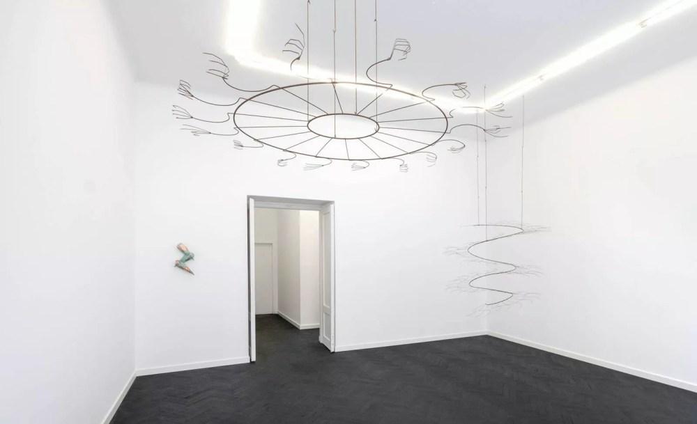 Iza Tarasewicz's exhibition