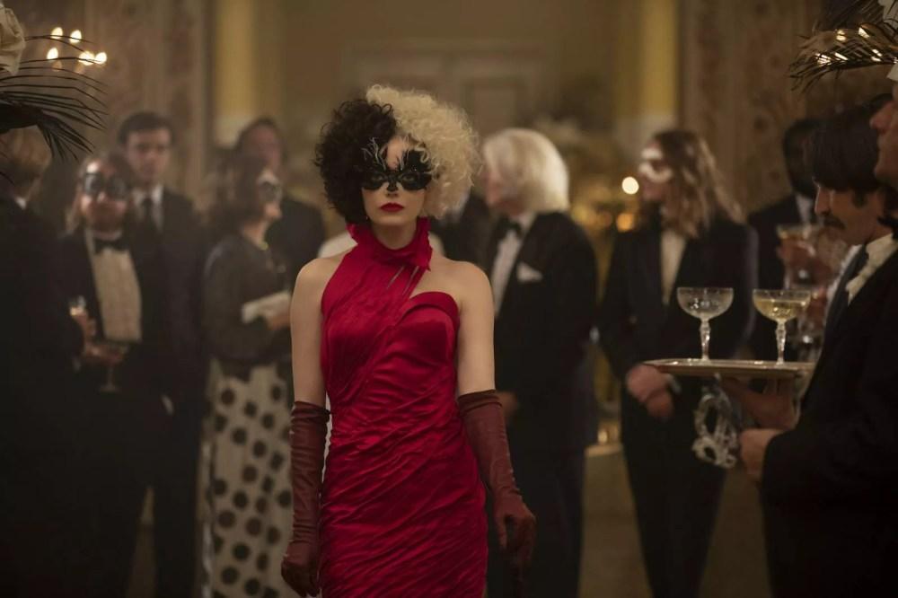 Emma Stone as Cruella De Mon