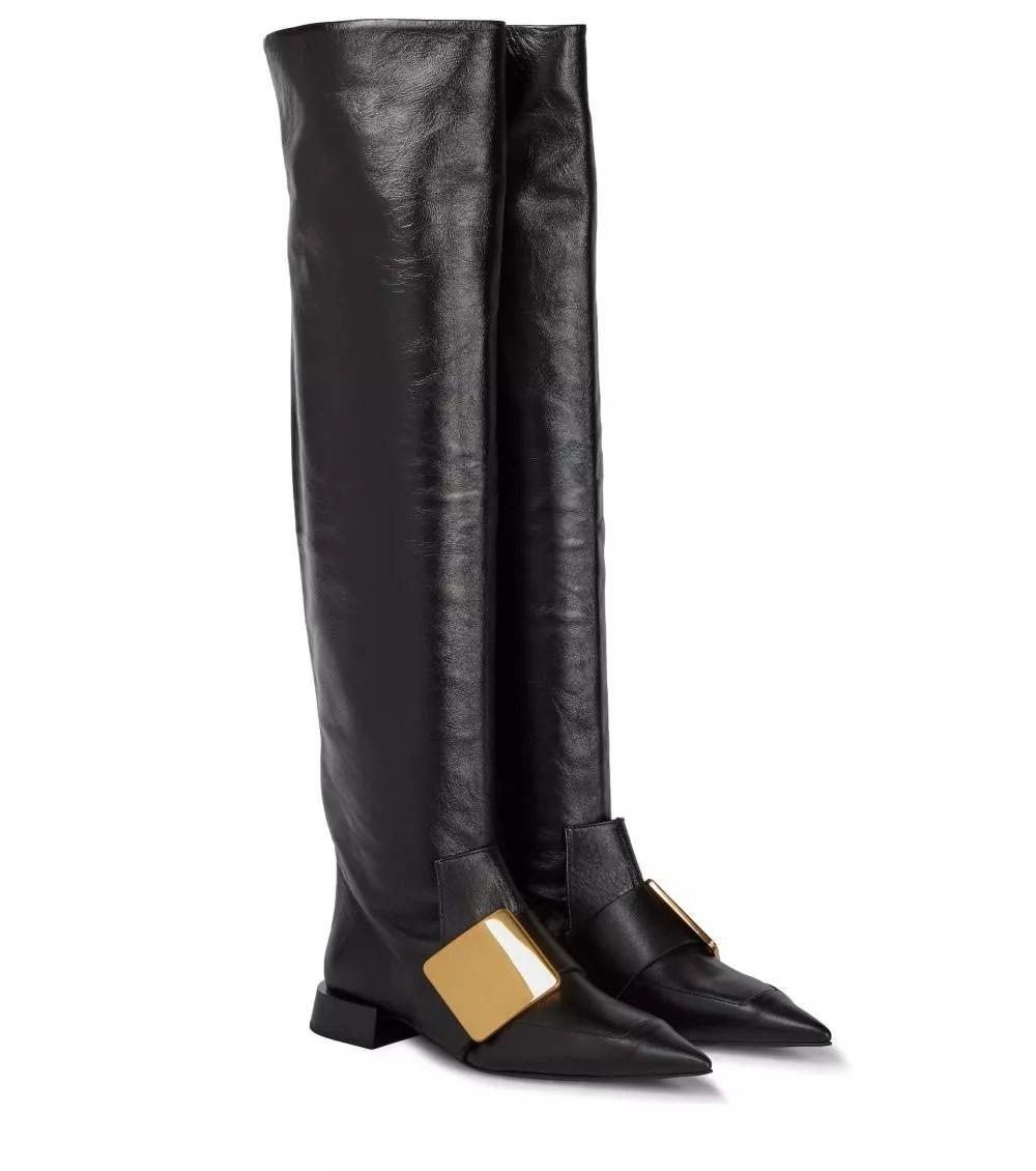 Thigh-high boots by Jil Sander (Photo: press materials)