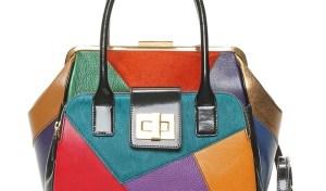 Braccialini Clio Arlecchino e le borse colorate dell'autunno inverno