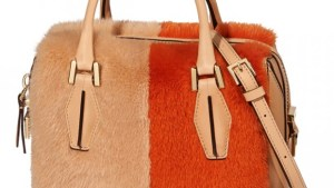 Bauletto Tods - Le bag in pelliccia AW 14-15