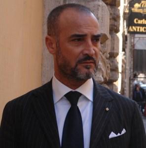 Lo scrittore e produttore TV Nicola Paparusso