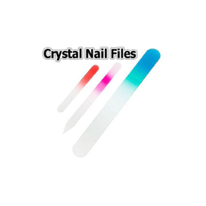Crystal Pedicure & Foot Files - 7 inch