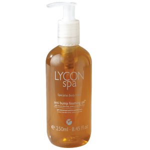 Anti-bump foaming gel by Lycon