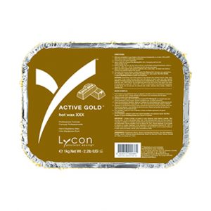 Active Gold Hard Wax by Lycon