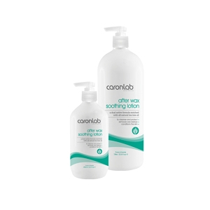 Caronlab After Wax Soothing Lotion with Pure Tea Tree Oil