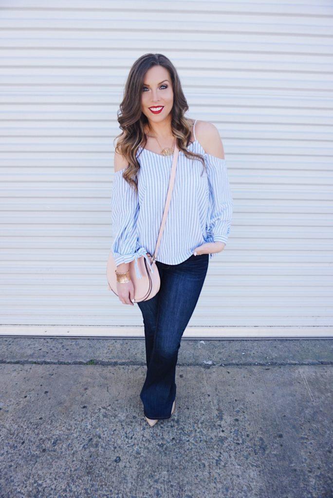 blued-striped-off-the-shoulder-top