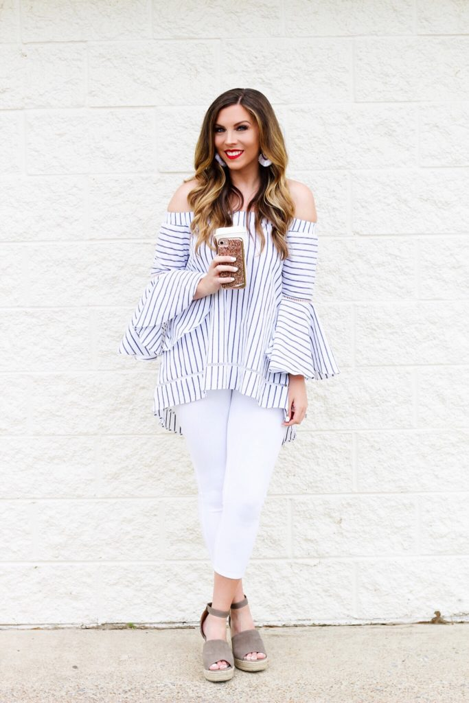 off-the-shoulder-striped-top
