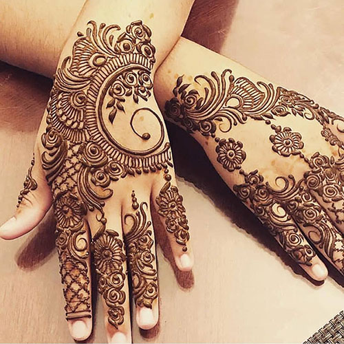 Mehandi Design Photos Simple And Easy