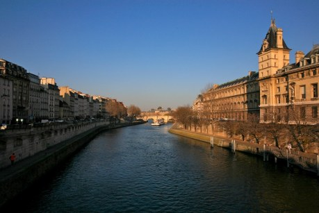Down the Seine River, Paris