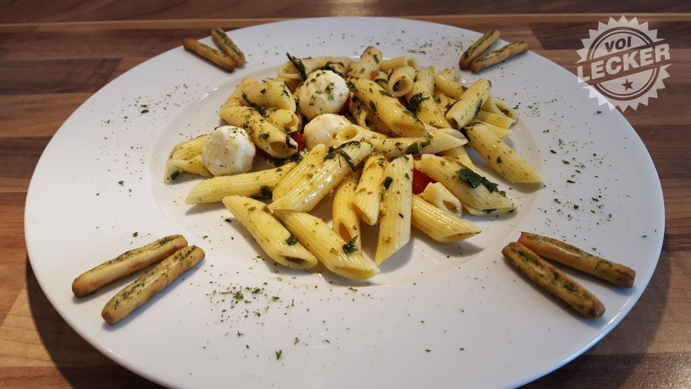 Cupito Nudelsalat Italia auf dem Teller