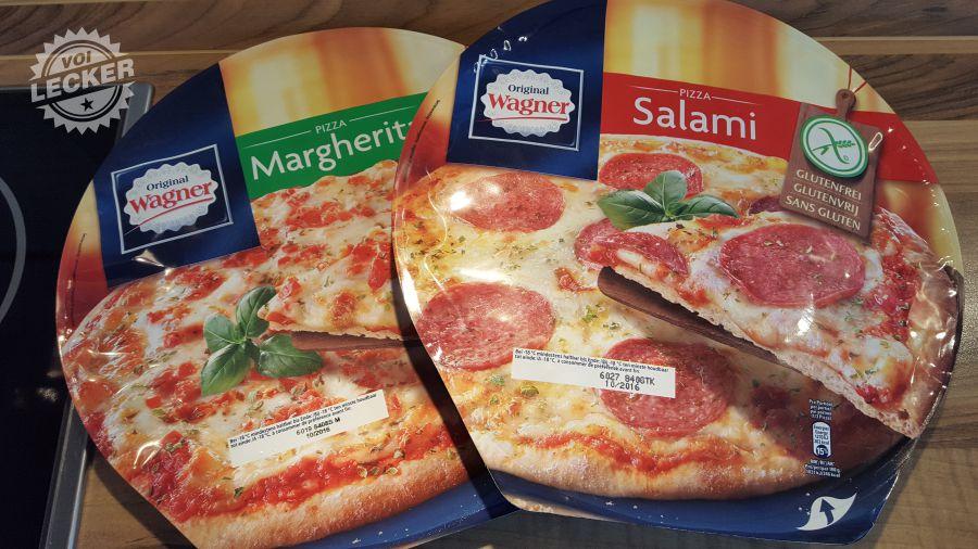 Glutenfreie Pizza von Wagner