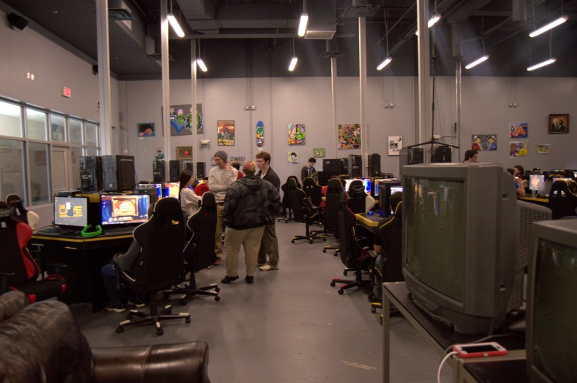 The Cave Gaming Center between rounds at the Hearthstone qualifying rounds. (Photo:Casey Ek)