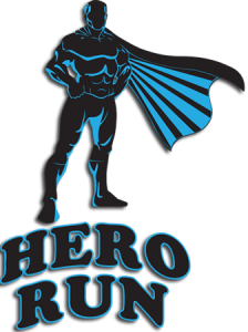 Racers received a t-shirt with our Hero Run logo.