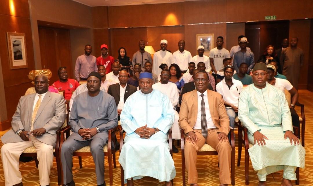 Gambians in Abu Dhabi thank President Barrow for New UAE Embassy |