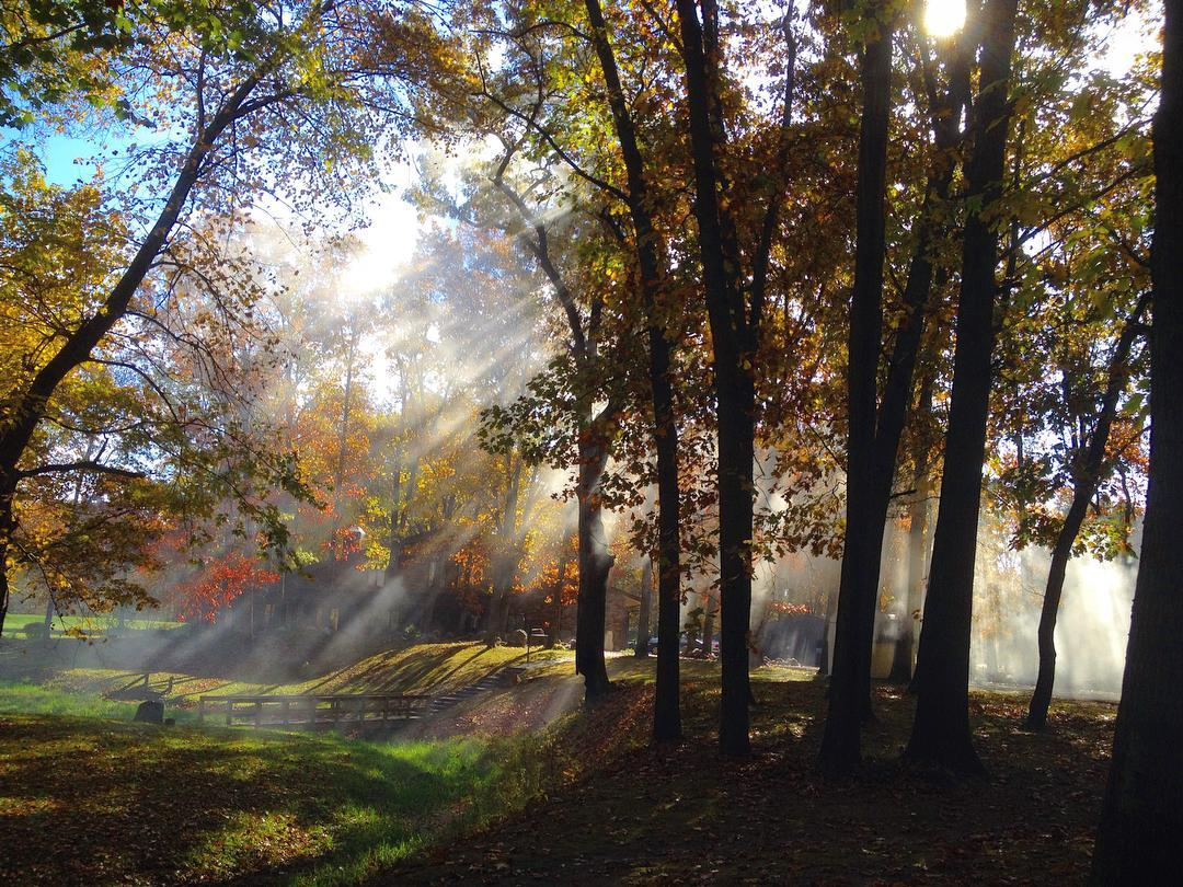 Morning glory! #voiceministriescamp #voiceministries #fallcolors #myindiana #elkhartcounty #michiana