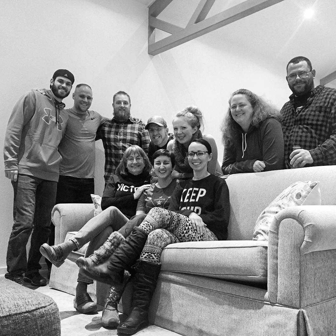 Great send off party tonight for Audra (who also turned 21) and Robert. They are both going to do outreach mission work in various parts of the US. Our Wednesday night IHOP-Michiana team will miss them but are excited for their journey! Pray for them both as they leave this weekend. Thanks, @billbert12307 for the great photo :-) #voiceministriescamp #ihopmichiana #voiceministries