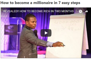How to become a millionaire in 7 easy steps