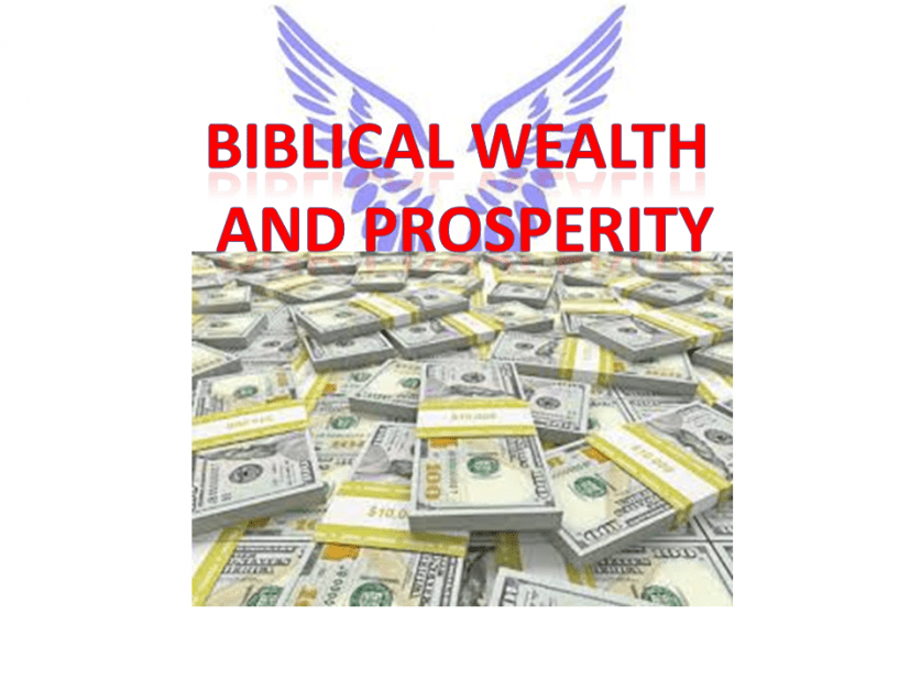 6 Keys to Guarantee Biblical Wealth and Prosperity
