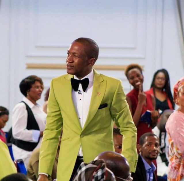 Prophet Angel graces ECG Service