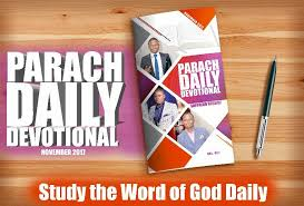 PARACH DAILY DEVOTIONAL By Prophet Shepherd Bushiri