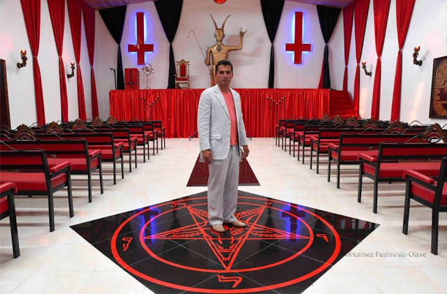Church Of Satan Finally Opened In Colombia: God Help Your Children. Temple of satan by Víctor Damián Rozo