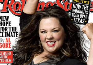 Melissa McCarthy on the cover of Rolling Stone Magazine