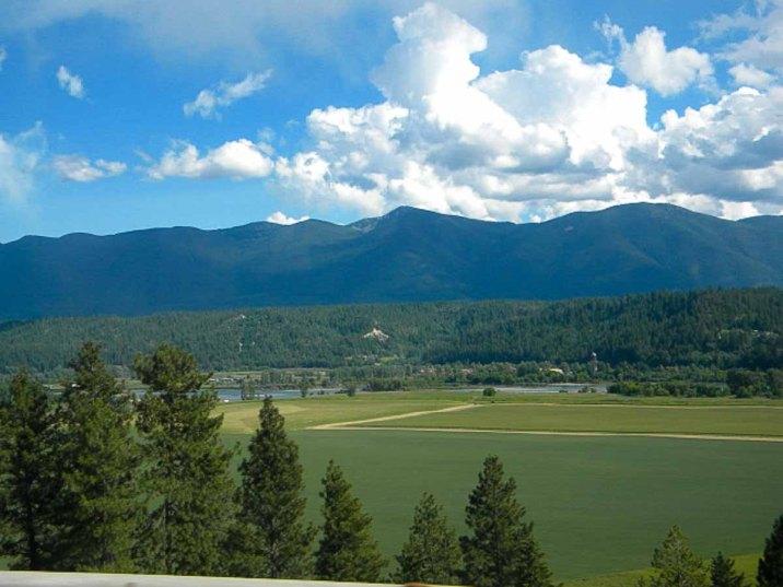 This might be the Kootenai Valley in northern Idaho