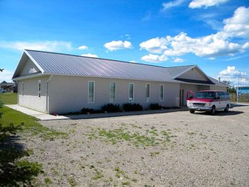The Western Plains Mennonite Church near Stirling, Alberta