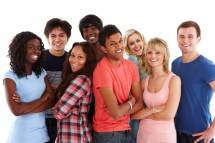 Diverse Group of Teens