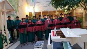 Kerkdienst met Vocaal ensemble Voices @ Lutherse kerk Hilversum | Maartensdijk | Utrecht | Nederland